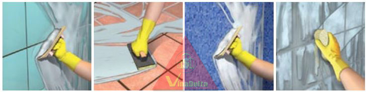 Ứng dụng tile grout