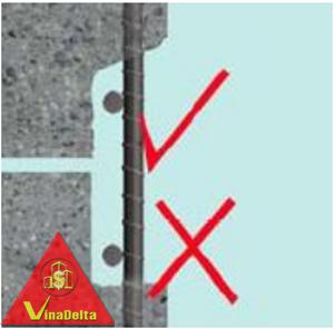 bề mặt sửa chữa bê tông